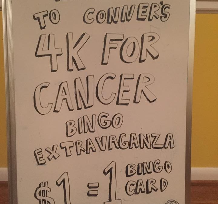 4K For Cancer Bingo Extravaganza By Conner McIntyre