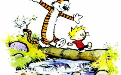 #Why4K with Calvin & Hobbes